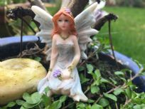 Blue Magical Fairy Fairyland Garden Ornament